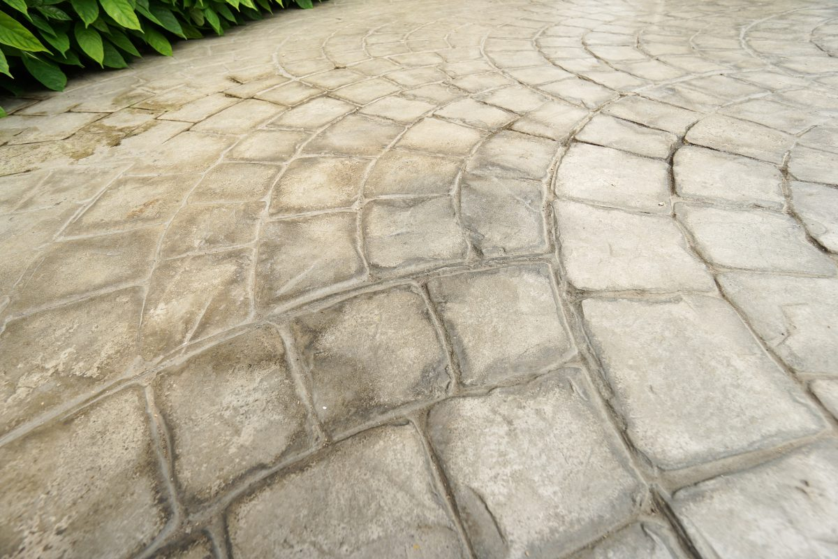 Stamped Concrete vs Pavers